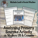 Analyzing Primary Sources Modern US and Canada Comparison