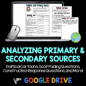 Analyzing Primary and Secondary Sources