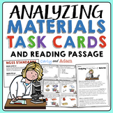 Analyzing Materials Task Cards