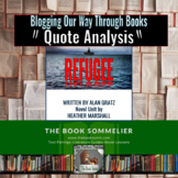Analyzing Quotes from the Novel Refugee by Alan Gratz