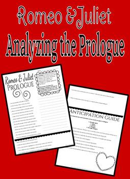 Analyzing Romeo & Juliet Prologue