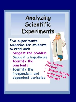 Analyzing Scientific Experiments