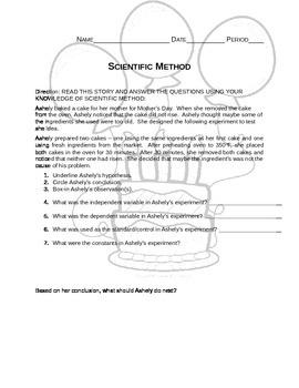 Analyzing Scientific Method Through Story Passage