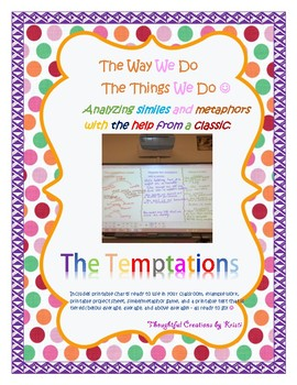 "Analyzing Similes and Metaphors - ""The Way We Do The Things We Do"""
