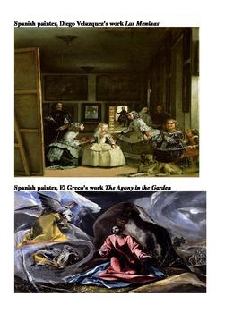 Analyzing Spanish and Dutch Art