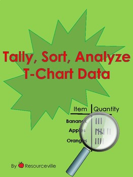 Tally, Sort, Analyze T Chart Data