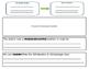 Analyzing Text Structure Passage Work Mats