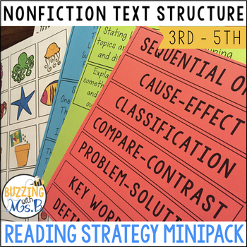 Analyzing Text Structure Strategy MiniPack