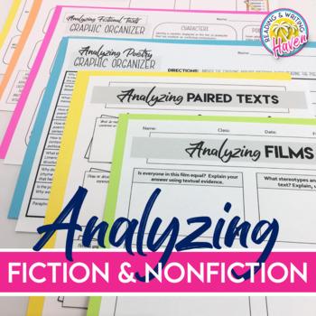 Analyzing Texts Bundle