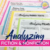 Literary Analysis: Analyzing Fiction and Nonfiction Texts Scaffolded Unit
