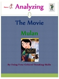 Analyzing The Movie Mulan: Using Critical Thinking Skills