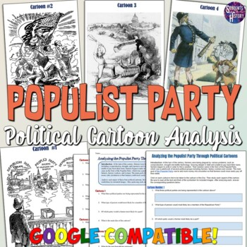 Analyzing The Populist Party Through Political Cartoons