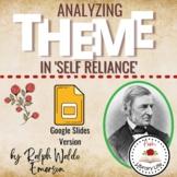 Analyzing Theme In Self Reliance by Ralph Waldo Emerson