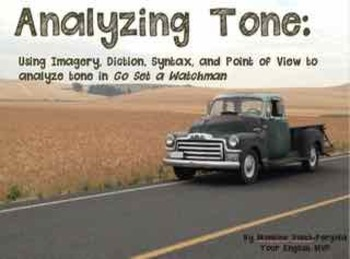 Analyzing Tone via diction imagery syntax point of view with Go Set a Watchman
