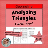 Analyzing Triangles Card Sort