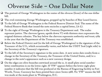 Analyzing United States Money (Banknotes)