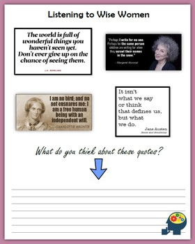 Analyzing What Female Authors Say (Women's History Month)