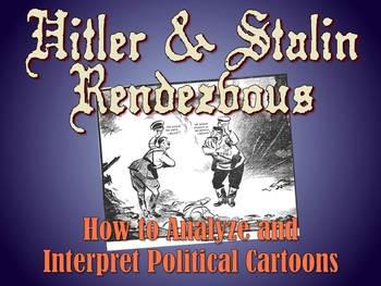 Analyzing World War II Political Cartoons