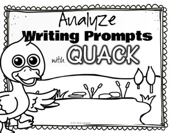 Creative Writing Skills - Strategies to Analyze a Writing Prompt - QUACK