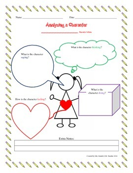 Analyzing a Character