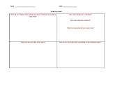 Analyzing a Poem Graphic Organizer