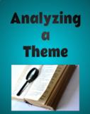 Analyzing a Theme