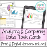 Analyzing and Comparing Data - Task Cards