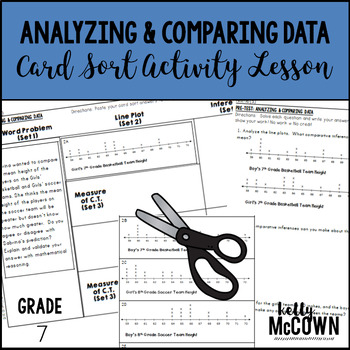 Analyzing and Comparing Statistical Data Card Sort Activity Lesson