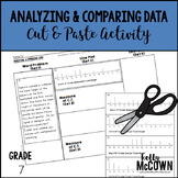 Analyzing and Comparing Statistical Data Cut & Paste Activity