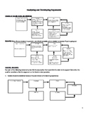 Analyzing and Developing Arguments with Toulmin Model worksheet