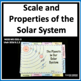 Analyzing and Interpreting Data: Scale and Properties of Solar System MS ESS1-3