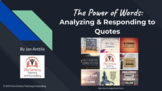 Analyzing and Responding to Quotes in Google Drive | Dista