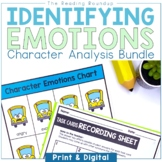 Analyzing and Understanding Characters Emotions Bundle