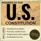 Analyzing the Constitution Set