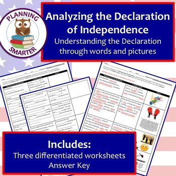 Analyzing The Declaration Of Independence 3 Unique Differentiated