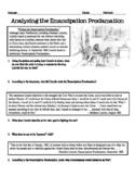 Analyzing the Emancipation Proclamation