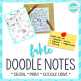 Analyzing the Fable Doodle Notes