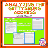 Analyzing the Gettysburg Address