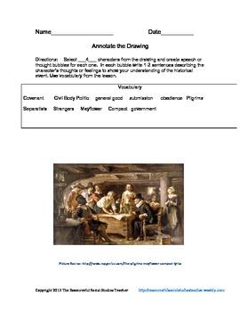 Analyzing the Mayflower Compact
