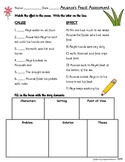 Ananse's Feast Activity and Asessment Printables