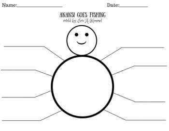 Anansi Goes Fishing Character Traits Graphic Organizer