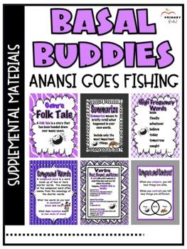 Anansi Goes Fishing -Reading Street (2013)2nd Grade Unit 3 Week 3
