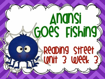 Anansi goes fishing reading street series grade 2 tpt for Anansi goes fishing