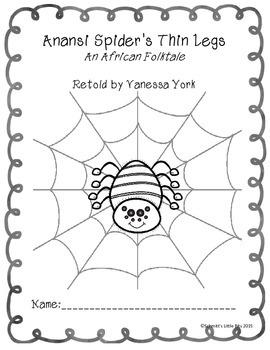 Anansi Spider's Thin Legs Workbook