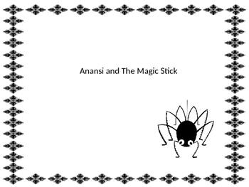Anansi and the Magic Stick Graphic Organizers