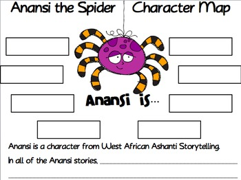 Anansi and the Moss Covered Rock Comprehension Freebie