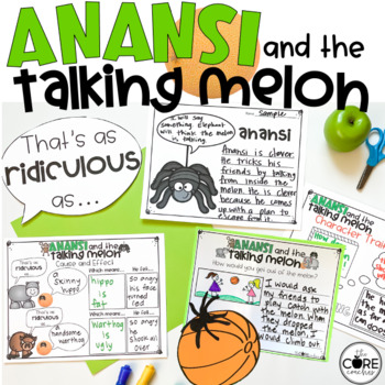 Anansi and the Talking Melon Read-Aloud | Distance Learning | for Google Slides