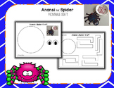 Anansi the Spider Printable Craft