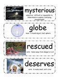 Anansi the Spider Vocabulary Cards