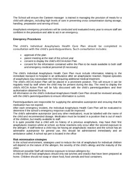 Anaphylaxis Document